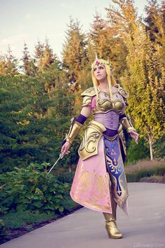 Princess Zelda from Hyrule Warriors.