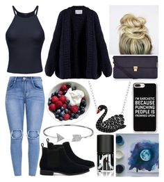 """""""Evening date"""" by musicmelody1 on Polyvore featuring TOMS, I Love Mr. Mittens, Accessorize, Casetify, Animal Planet, Uslu Airlines and Bling Jewelry"""