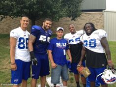 Buffalo Bills' photo: Photo: Sgt. Eric Rodriguez, special guest of @DavidNelson86, for Operation Gratitude
