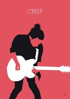 Digital Art - My Radiohead Minimal Music Poster by Chungkong Art , Music Drawings, Music Artwork, Art Music, Radiohead Lyrics, Radiohead Poster, Musikfestival Poster, Poster Ideas, Poster Prints, Historia Do Rock