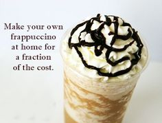 Afternoon Coffee Break: Recipe For Homemade Frappuccinos