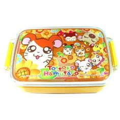TOTTOKO HAMUTARO Bento Box ~ Sunflower  -  I want this sooo bad!!!!!