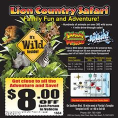 Love The Lion Country Safari If You Visit South Florida It S A Must See