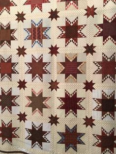 Delectable Feathered Star by Sue Troyan.  Quilted by Sylvia Thompson.