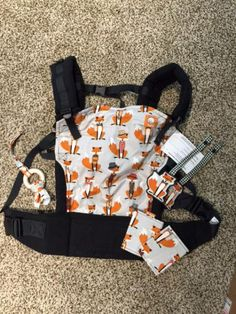 NEW Foxy Tula baby carrier with Droolas and other accessories | Cloth Diaper Trader