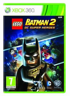 Top 50 Xbox 360 Games 2013. In LEGO Batman 2: DC Super Heroes, the dynamic duo of Batman and Robin join other famous super heroes from the DC Universe, including Superman, Wonder Woman and Green Lantern to save Gotham City from destruction at the hands of the notorious villains Lex Luthor and the Joker. Only £14.99