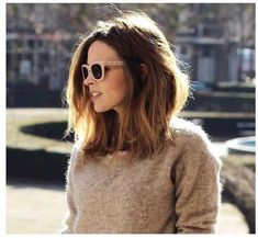 Long bob hairstyle is the biggest hair trend lately! So in this post you will find Latest Long Bobs Hairstyles, you may want to try one of these gorgeous. Long Bob Haircuts, Long Bob Hairstyles, Pretty Hairstyles, Medium Hair Styles, Curly Hair Styles, Langer Bob, Lob Hairstyle, Hairstyle Names, Hairstyle Ideas