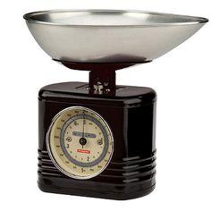 Typhoon® Vintage Kitchen Black Scales - from Lakeland