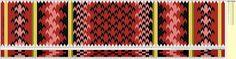 Beltestakk 004 - 130 brikker - rod