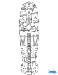 Do you want to help your child discover Egypt in fun, yet educational way? These ancient Egypt coloring pages will enthrall him greatly! Check & print for your kid. Ancient Egypt Lessons, Ancient Egypt Activities, Ancient Egypt Crafts, Ancient Egypt For Kids, Egyptian Crafts, Egyptian Art, Ancient History, Ancient Egypt Mummies, Egyptian Mummies