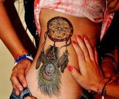 dream catcher. beautiful tattoo.