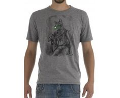T-shirt with cat
