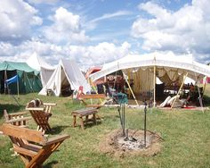 Lovely Pennsic camp. Shadefly by gwen.erin, via Flickr