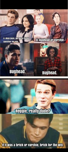 I am with you, Reggie Riverdale Quotes, Bughead Riverdale, Riverdale Funny, Riverdale Betty And Jughead, Riverdale Cole Sprouse, Riverdale Aesthetic, Cw Series, Disney Memes, Funny Texts