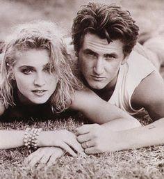 Sean Penn and Madonna.