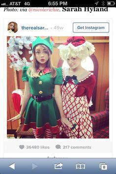Elf or Mrs Claus costume