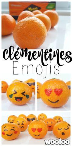 Voici mes clémentines Emojis! :P
