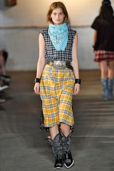 Western-Inspired Style is Ruling the New York Fashion Week Runways - R13 from InStyle.com