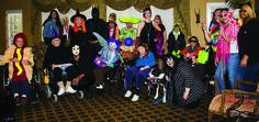 Everyone got in the Halloween spirit!