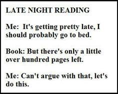 Bookworm addiction