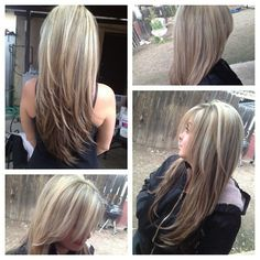 Hair cut and color by evelyn