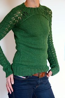 Bloomsbury - I LOVE this sweater.  I need to learn to knit sweaters/lace, and STAT!