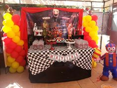En la Batidora's Birthday / Five Nights At Freddy¨s - Five Nights At Freddy´s at Catch My Party Happy 12th Birthday, 6th Birthday Parties, Boy Birthday, Fnaf Crafts, Five Nights At Freddy's, Party Time, Party Ideas, Mutant Ninja, Teenage Mutant