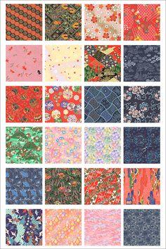 日本の伝統的なデザインは美しい、和の柄や文様・和紙・折り紙・千代紙などの癒やし系素材のまとめ