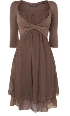 Silk Jersey Dress from Phase Eight, Spring 2013. I'd like this just for day-to-night wear, but I'm not sure I can justify the expense unless I have a specific occasion in mind.