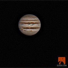 Jupiters red spots 1/21/13