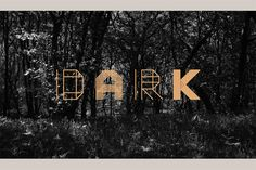 Moku26 Typeface.Moku26 - Stylish geometric typeface for the digital woodworker. Inspired by old fashion woo...