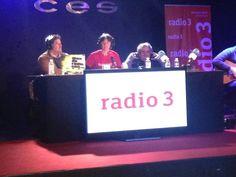 En directo desde la Escuela CES Jorge Sanz y radio 3 #DíasDeRadioCES