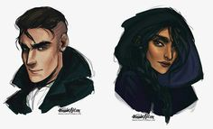 Kaz and Inej | Six of Crows by Leigh Bardugo