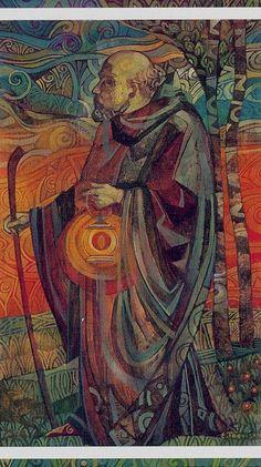 Crystal Tarot - The Hermit