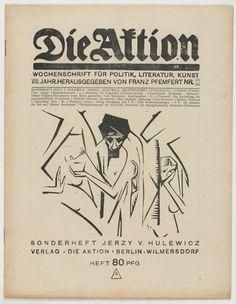 Jerzy von Hulewicz. Die Aktion, vol. 8, no. 35/36. September 7, 1918