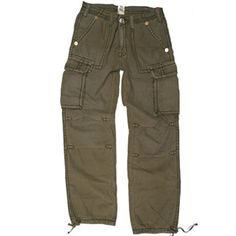 True Religion Anthony cargo pant in TL Army MEG840K33, Free Shipping at CelebrityModa.com