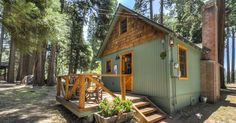 The 'Wildflower Cabin' can be found in the Lake Arrowhead, in Southern California. It was built in the 1920s and originally was used by the Forest Service Employees. Now that is privately owned, it's been remodeled as a perfect, romantic and vintage