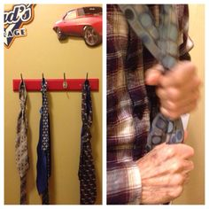 Found a great life enrichment activity for men! Ask one of your residents to help you tie a tie.