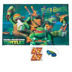 Teenage Mutant Ninja Turtles Party Game - OrientalTrading.com only 8 stickers