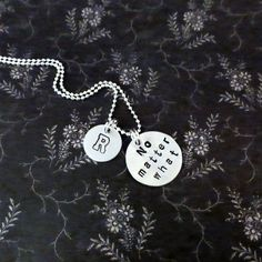 SALE  No Matter What Necklace  Personalized with by ILoveItandMore