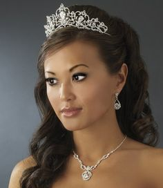 Fairytale Quinceanera Tiara and Jewelry Set! Visit specialoccasionsforless.com for fabulous accessories for all occasions!