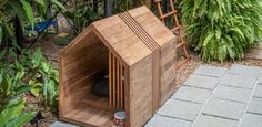 Dog Furniture, Woodworking Furniture, Modern Dog Houses, Urban Chickens, Beginner Woodworking Projects, Animal House, Pet Gifts, Cabana, Dog Bed