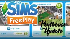 The Sims Freeplay Penthouse Update Announcement!
