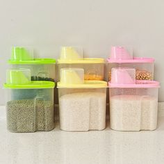OXO Cereal Storage Containers I love these containers cereal stays
