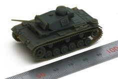 1/115 Pz Kpfw 3 Ausf type-L (mabe by envisionTEC perfactory)