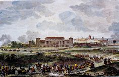 (1796-1797) Siege of Mantua - French victory over the Austrians.