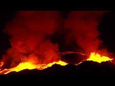 L'éruption du volcan Bardarbunga filmée par un drone