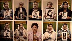 """24 de Marzo – Día de la Memoria – en Argentina.  Campaña """"Los estamos esperando"""" en relación a la causa de Abuelas de Plaza de Mayo que mantienen su búsqueda activa y amorosa por los hijos y nietos desaparecidos y apropiados durante el período de dictadura militar en Argentina, entre los años 1976 y 1983."""