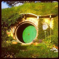 Hobbiton | Bilbo's house #Hobbiton #TheHobbit