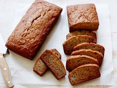 Calling for vegetable oil in lieu of butter, this easy Banana Bread is moist and light.